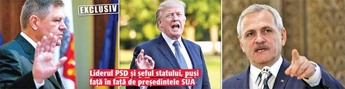 02 03 13 Dragnea si Iohannis, scosi pe interval de Trump!