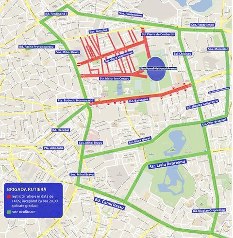 21752325 1369715249806372 719465528022186874 n restrictii meci FCSB Meciul FCSB Viktoria Plzen aduce restrictii rutiere in Capitala