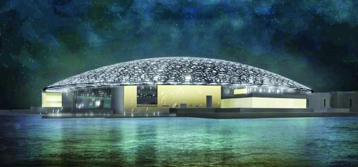 4 Se deschide Muzeul Luvru din Abu Dhabi