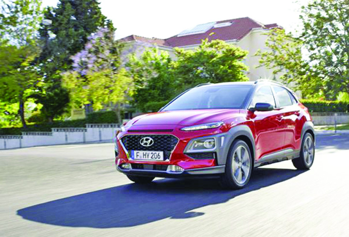 Hyundai Kona Frankfurt Motor Show: asaltul  SUV urilor