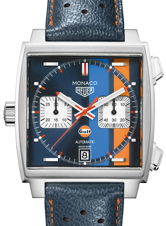 TAG Heuer Monaco Gulf Special Edition 4 Ceasurile momentului: precizia e scumpa!