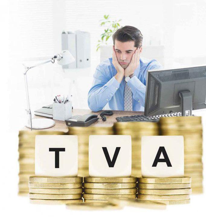 TVA Plata defalcata a TVA, explicata de Fisc