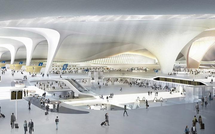 aeroport 1 Asa va arata cel mai mare aeroport din lume