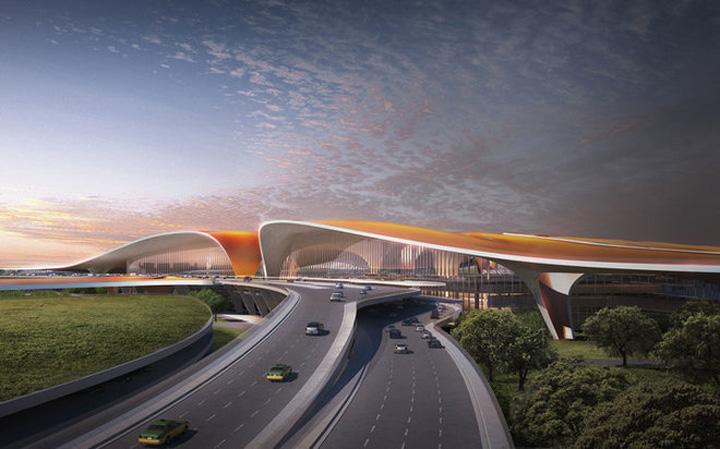 aeroport 2 Asa va arata cel mai mare aeroport din lume