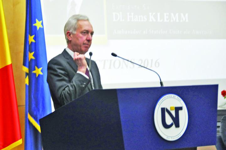 ambasador hans klemm uvt 10 CSM declanseaza jihadul in Justitie
