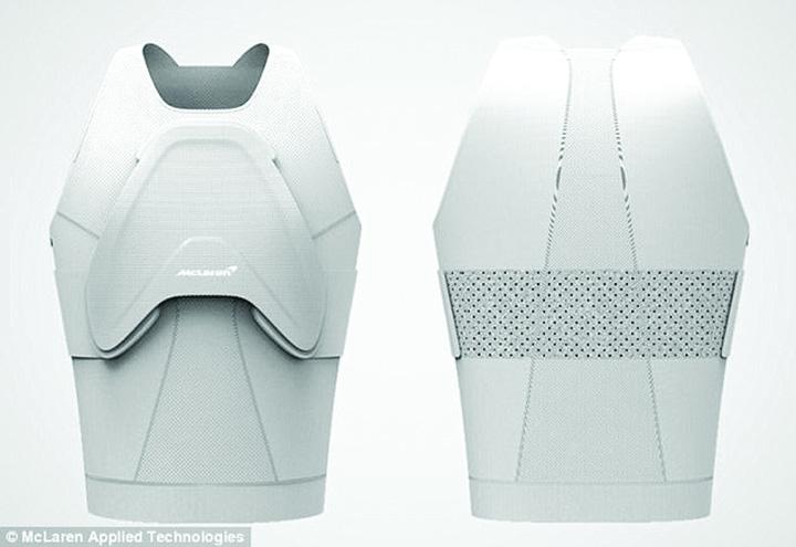 armura 2 McLaren a construit o superarmura