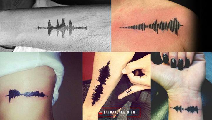 audio tatuaje O noua moda:  tatuajele audio
