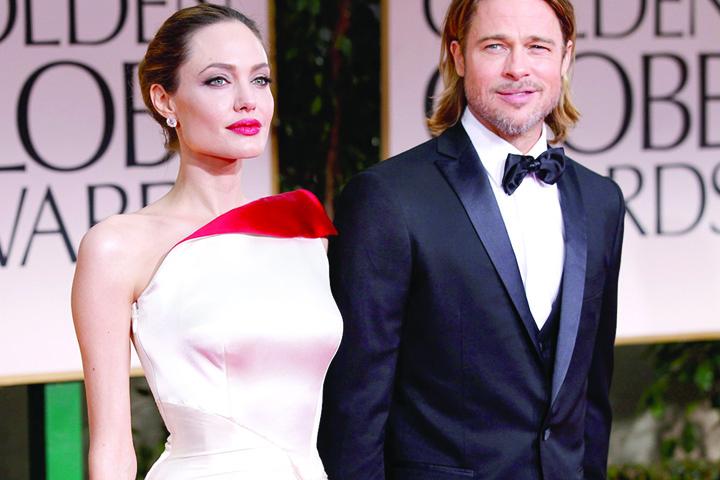 brad pitt angelina jolie 2012 SOC! Angelina Jolie si Brad Pitt s au impacat