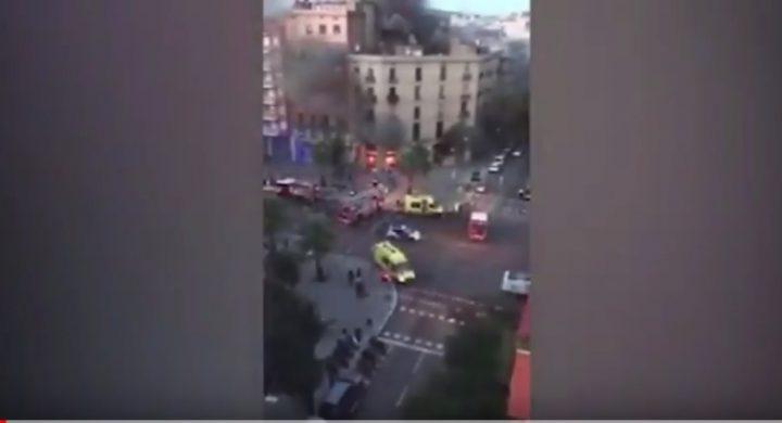 brutarie 720x390 Explozie si flacari intr o brutarie din Barcelona: peste 20 de raniti (VIDEO)
