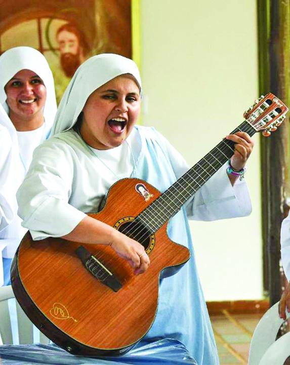 calugarita 1 O calugarita canta rap pentru Papa