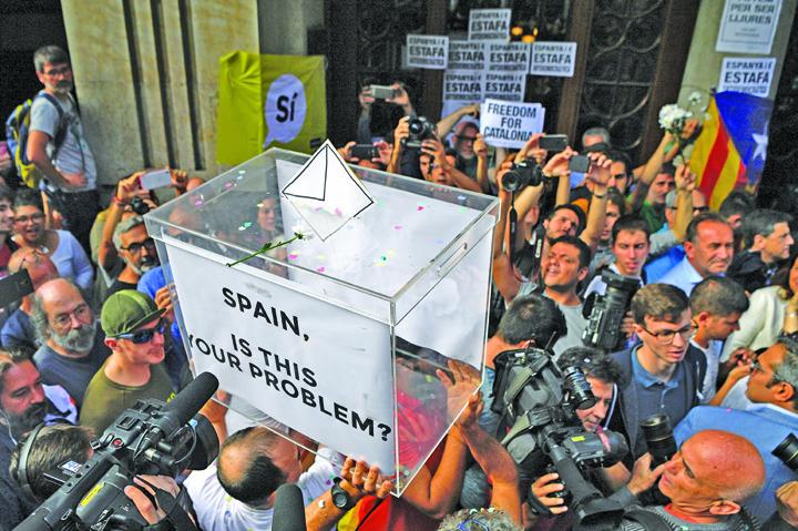 catalonia 1 Catalonia: Primarul Barcelonei cere medierea UE