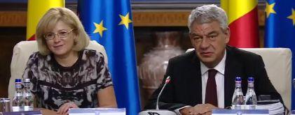 comis 1 Comisarul Cretu, la sedinta de Guvern. Felicitari pe tema absorbtiei fondurilor europene