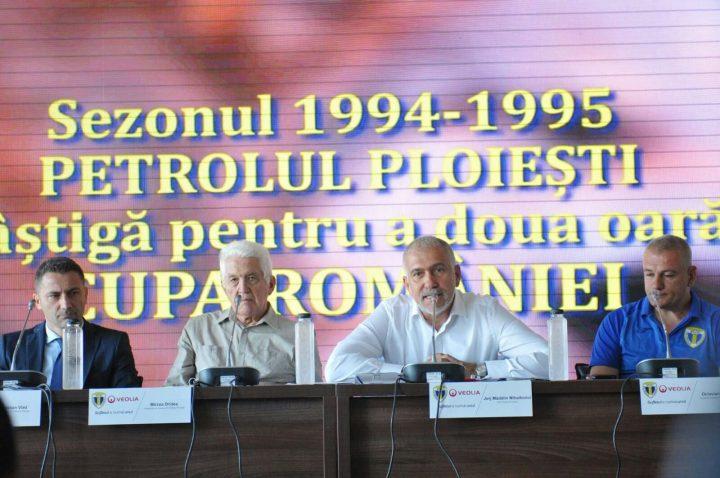 conferinta7 1 720x478 Madalin Mihailovici, CEO Veolia da asigurari de stabilitate financiara:Nu suntem sponsori, suntem partenerii echipei Petrolul Ploiesti
