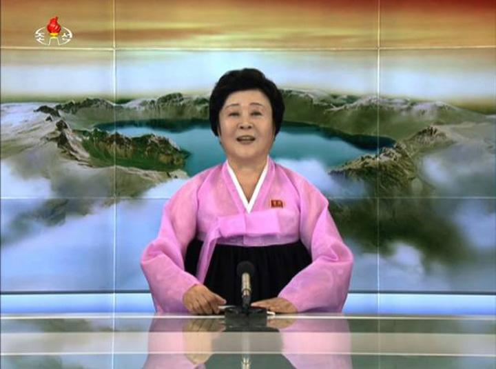 coreea prezentatoare Megapetarda lui Kim Jong un