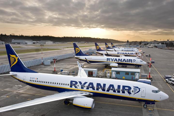 curse Romania, afectata de anularea zborurilor Ryanair