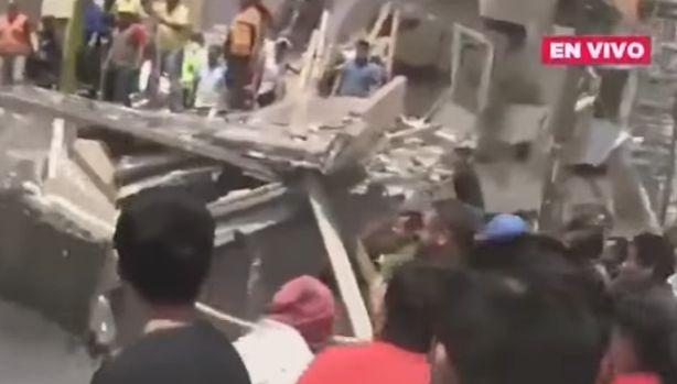 cutr 1 Cutremur puternic in Mexic   au murit peste 210 oameni (VIDEO)