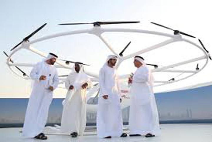 dubai 2 Dubai, primul oras cu taxiuri zburatoare