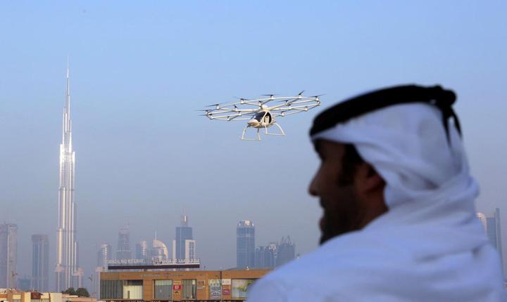 dubai 3 Dubai, primul oras cu taxiuri zburatoare