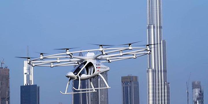 dubasi mare Dubai, primul oras cu taxiuri zburatoare