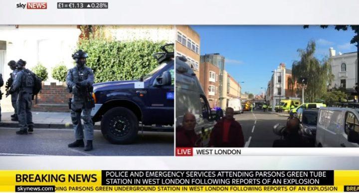 expl 720x387 Explozie la metroul londonez (VIDEO)