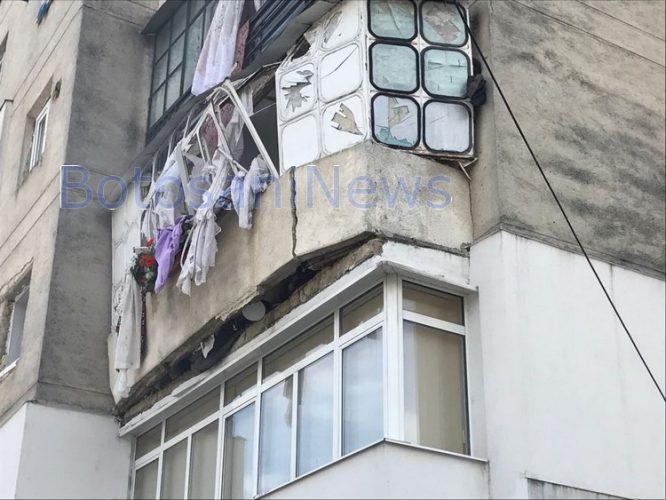 explozie bloc primaverii 666x500 Explozie puternica intr un bloc din Botosani: mai multi raniti
