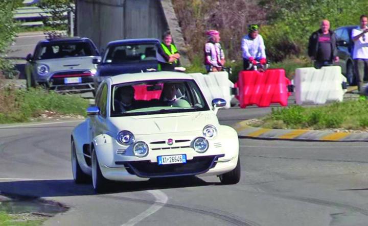 fiat 1 Cel mai fioros Fiat 500 din lume