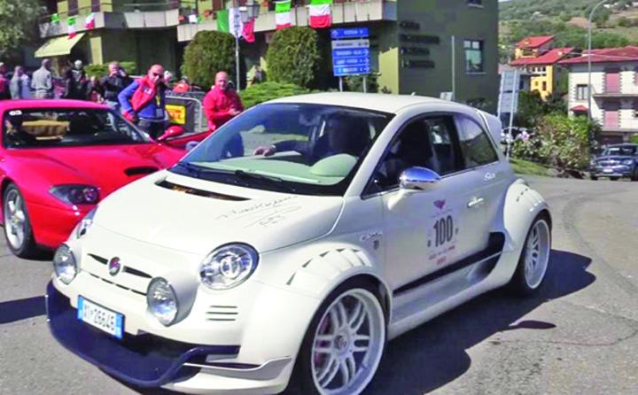 fiat 3 Cel mai fioros Fiat 500 din lume