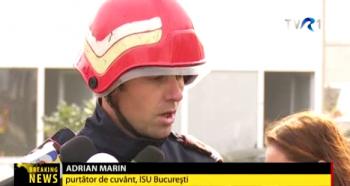 incend11 350x186 Reprezentant ISU: Caminul de batrani nu avea autorizatie de securitate la incendiu