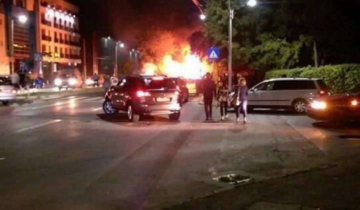 incendiu 720x421 Parintii fetitei care a pierit in masina arsa la Constanta, transferati in Bucuresti
