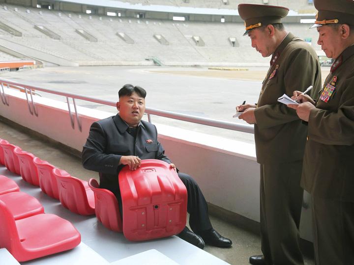 kim caseta Kim, lovit cu ranga sanctiunilor
