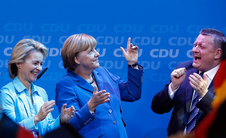 merkel mare alegeri Victorie amara pentru Merkel