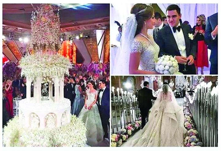nunta Nunta de lux a fiului miliardarului Karapetyan, prietenul lui Putin