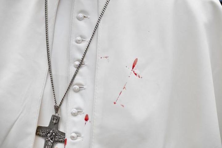 papa sange Centura, centura, Sanctitatea Voastra!!
