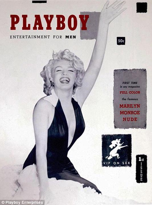 prima coperta Playboy Omul care a dezbracat America a murit!
