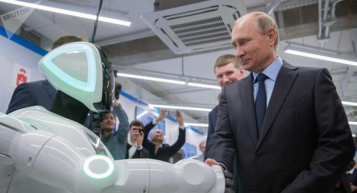 putin 1 Putin, presedintele androizilor
