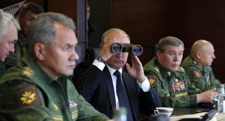 putin 2 Armata lui Putin si a dat cu tesla