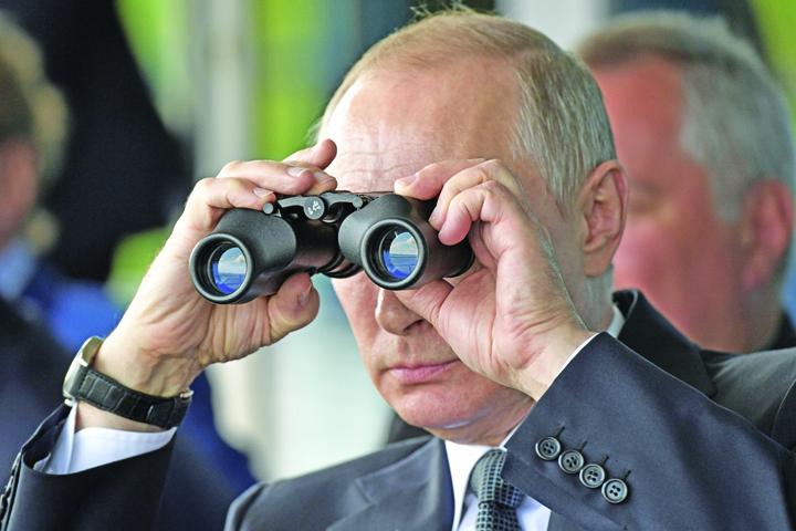 putin medalion Putin, la portile UE