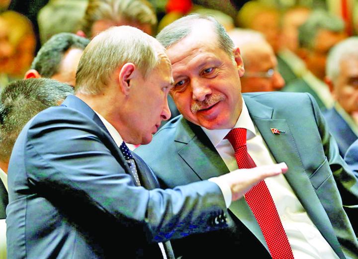 recep si putin Erdogan isi ia superscut de la Putin