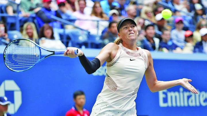 sarapova Sarapova pleaca de la US Open cu gandul la Halep