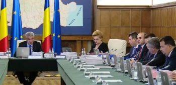 sedinta guvern 350x169 Ordonanta de modificare a Codului Fiscal, in Monitorul Oficial