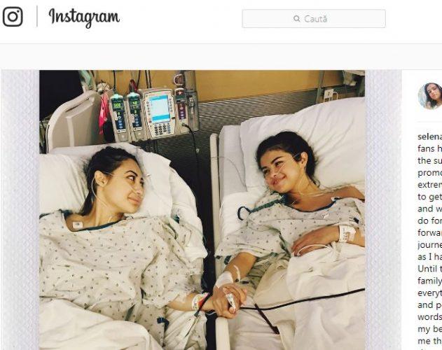 sele 631x500 Selena Gomez si a anuntat fanii ca suferit un transplant de rinichi