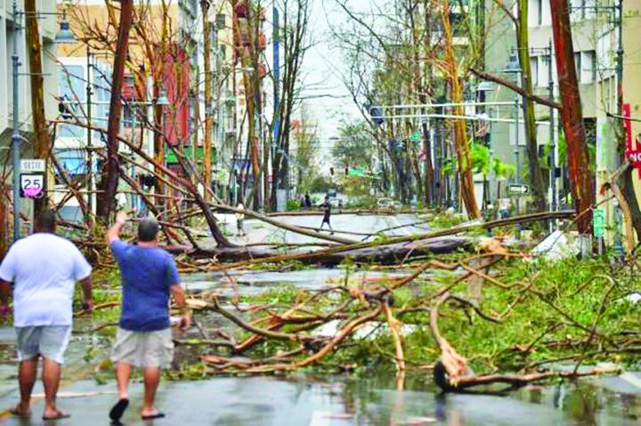 uragan 2 Puerto Rico, devastat de uraganul Maria