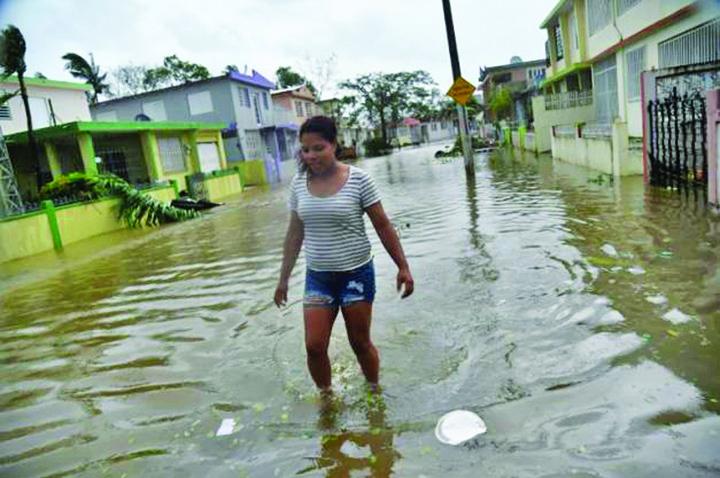 uragan1 Puerto Rico, devastat de uraganul Maria