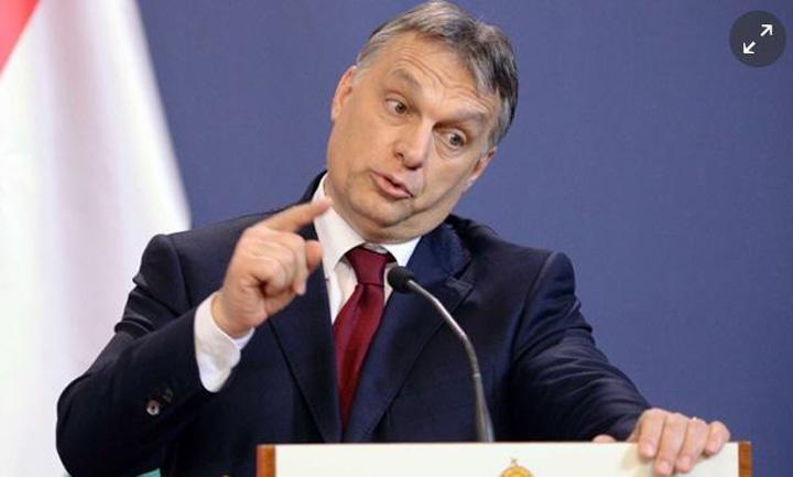 viktor Viktor Orban, controlat acasa de  UE