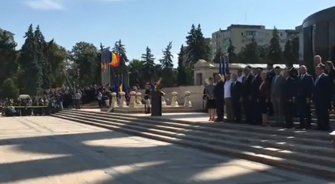 ziua pompierilor Mesajul pe care Iohannis l a transmis pompierilor, de ziua lor, la ceremonia din Parcul Carol
