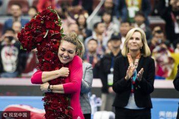 22382182 1602115489812406 5892133460984959224 o bucuria simonei 350x233 Halep urca pe locul 1 WTA. Prima reactie a Simonei dupa marea reusita: E ziua mea speciala!