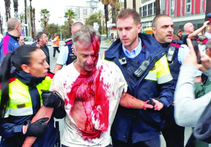 44EB8E0B00000578 4937860 image m 89 1506857728636 1 Catalonia: mai mult sange decat vot