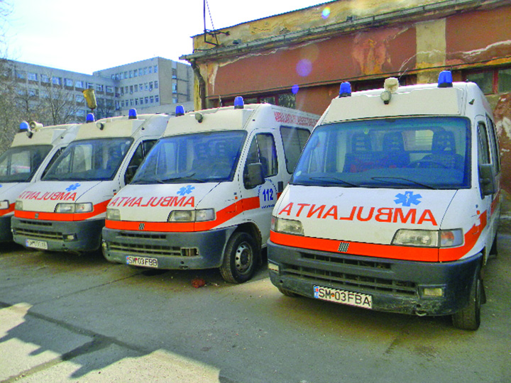 """Ambulante Raed sparge de urgenta """"pusculita"""" MAI!"""