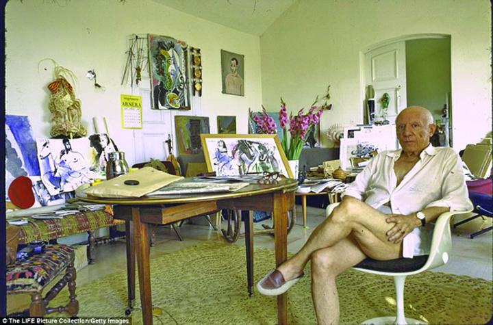 Picasso 2 Vila lui Picasso de pe Riviera franceza, scoasa la licitatie