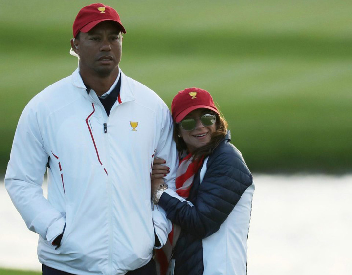 Tiger Woods cu actuala. Tiger Woods are o iubita noua
